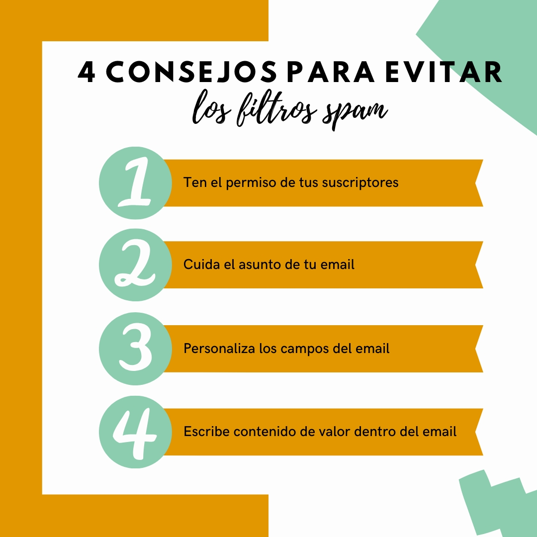 4 consejos para evitar los filtros spam